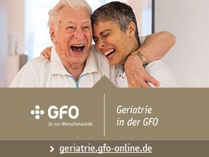 "Fokus Thema ""Geriatrie in der GFO"""